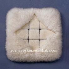 Plush Cushion Sheepskin Manufacture Cushion