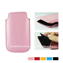 leather pouch slip case mobile accessories for girls for iphone 5 5S 4 4S