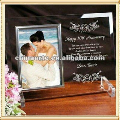 Recuerdo regalos para pareja de recién casados con marco de fotos