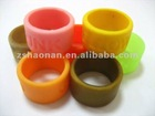 2012 hot sell custom cheap silicone rubber thumb ring