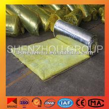 High-temperature fiber glass wool felt with aluminum foil
