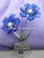 lighting crystal flower