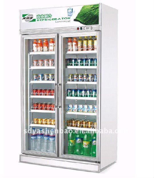 Fridge supermarket display refrigerator commercial refrigerator
