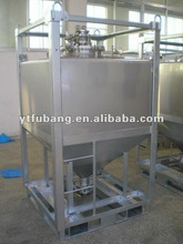 Stainless steel spray coating storage tanks (high quality)
