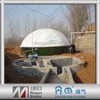 Dual Membrane Methane Gas Holder & Biogas Digester