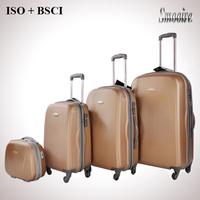 new polular big 100% pc trolley hard case luggage