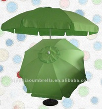 2.4Meter Green Big Umbrella Beach