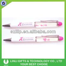 Customised floater ballpoint pen for promotion