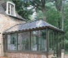 garden house,glass house,sunroom ,aluminum tempeted glass house sale in Canton factory
