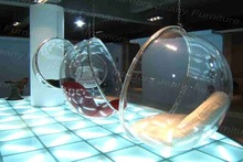 transparent bubble chair