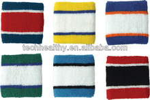Sport Wristband for sporting terry cloth Sweatband