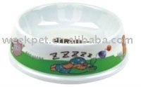 Lovely Melamine Pet Bowl