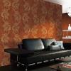 New design vinyl wallpaper(ISO9001 ISO4001)