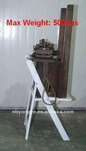 Durable résine chaise pliante
