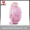 Pink golf caddie bag for ladies