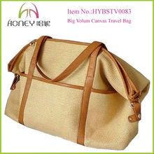 Fancy Best Big Jute High Quality New Design Travel Bags
