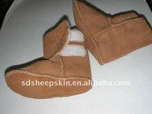 British Children Sheepskin Shoe Soft Bottom