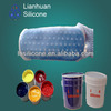 silicone screen printing ink for Coating on Textile and socks/glove print