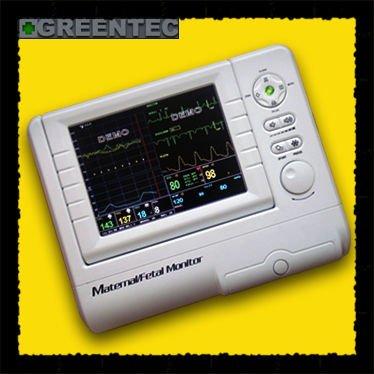 Maternelle/fhr fœtale moniteur patient, toco, ecg, nibp, spo2