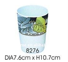 8276dia7.6cm*h10.7cmถ้วยกาแฟเมลามีน