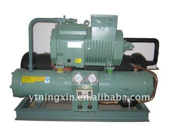 BITZER semi-hermetic piston water chiller unit