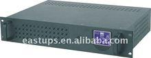1000VA Line Interactive rack mount UPS with LCD display