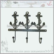 Iron anchor wall hook