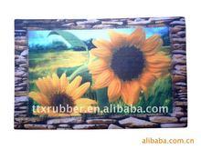 door mat print picture