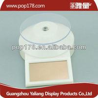 solar rotating turntable display stand