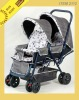 Hot twin baby stroller/ twin pram good quality car seat 2112=266#+172#