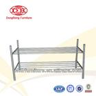 compact metal shoe rack