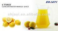 6 times concentrated lemon juice