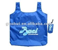 2011 fashion hot sales polyester foldable shopping bag
