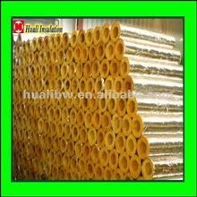 Aluminum foiled fiberglass pipe insulation