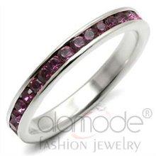 Fashion 925 silver jewelry,crystal eternity ring
