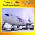 de aire de fedex las tarifas de flete desde china a estados unidos