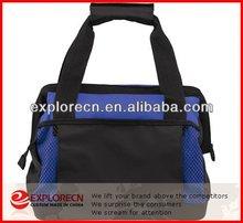 Customize bottle folding cooler tote bag