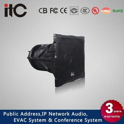 ITC T-2700 150W Waterproof 2.0 Outdoor Stadium Horn Speakers for Paging Systems