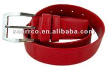 2012 newest ladys belt with fish logo