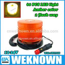 12V/24V rotating and strobe flash light Car Led Warning light, warning beacons