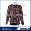 personalizado sublimation camisola roupa