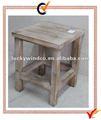 De madera de época heces