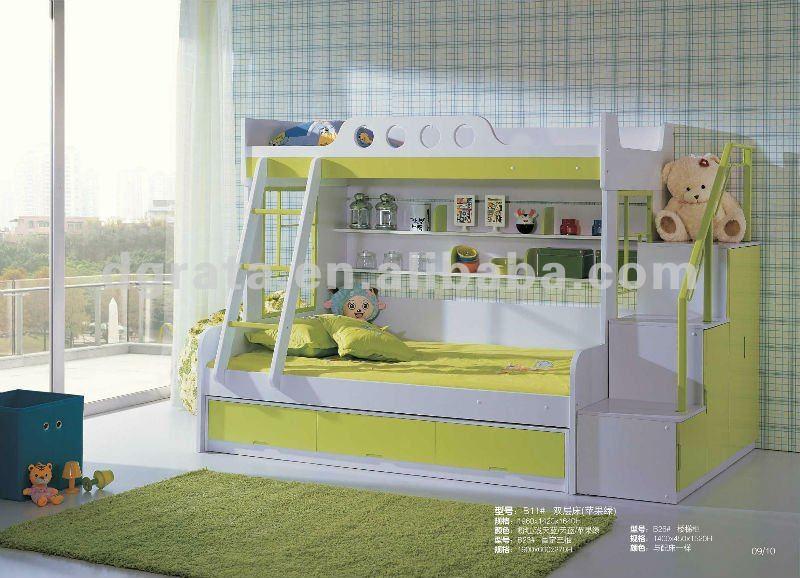 2012 niños del nuevo diseño de literas niños está hecho de MDFboard para adolescente