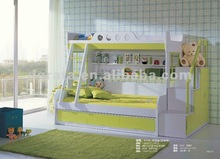 2012 new design DIY children bunk children bed is made from MDFboard for teenager