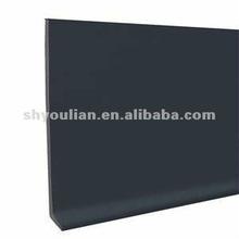 164' long pvc wall cove base baseboard, skirting SGS approval