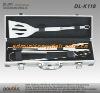 4 pcs alumnium case packing BBQ tool set