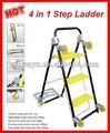 4 1 en multi- propósito escalera de mano con ruedas( en131 aprobación)