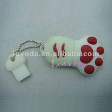 plastic USB pen drive with your logo printing / PVC USB Flash Drive/ 3D usb stick LFN-206
