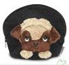 fashion dog plush purse bag