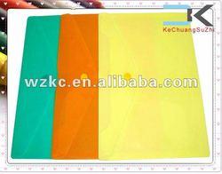 Custom Plastic PP made document file bag envelope